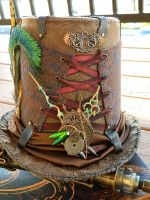 Steampunk Top Hat by EMasqueradeGallery