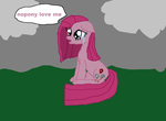Sad Pinkamena by cynder45667