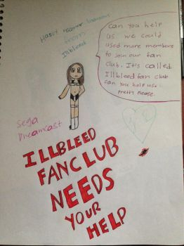 ILLBLEED FAN CLUB MESSAGE by SadnessFemBoy2016
