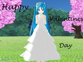 MMD Valentines Day Special (Video in Description) by SilverMist2