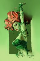 poison ivy colored by efrain-elijah