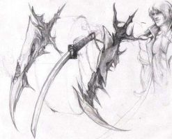 Devil may cry Swords by JUSTINQ88