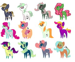 Pony adopts by G0LDSTAR