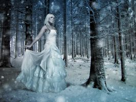 Snow princess by oloferla