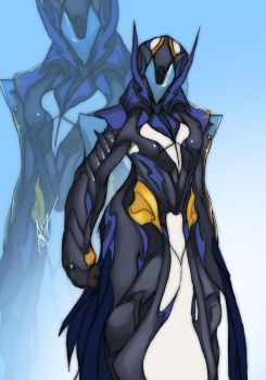 Variant Warframe Frost by AMO17
