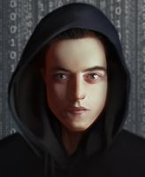 Elliot Alderson from Mr. Robot by DziKawa