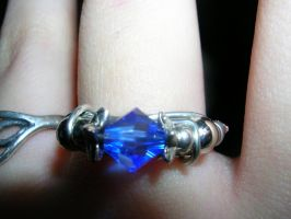 Sapphire Ring by Amthyst