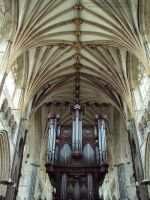 Exeter Cathedral by jollyjack
