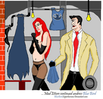 Ettore dirty job (part 4) by BlueBirdSuperheroine
