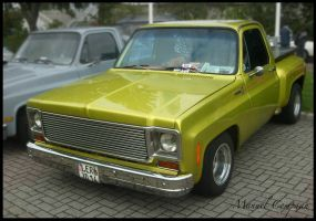 1975 Chevrolet Stepside Pickup by compaan-art