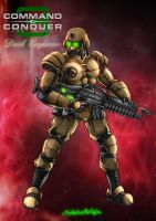 GDI Commando by DarkEmperor00