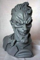 Joker bust by ThiagoProvin