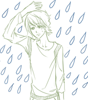 I don't like the rain. by watermelonseeds