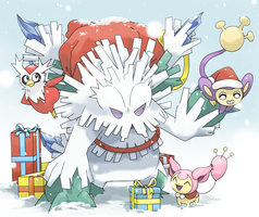 Merry Christmas 2013 by PinkGermy