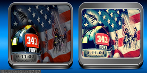 9-11-01 tribute icons by bostonguy3737