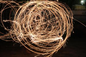 Spiraled Sparks by N-ScapePhotography