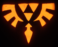 The Crest of Lorule Pumpkin by johwee
