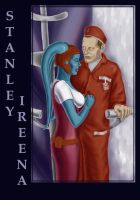 Stanley and Ireena by Psee