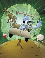 Regular Show by GeekyWhiteGuy