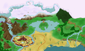 The Map of the Lunar Packs by DisneyPuff