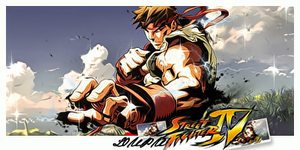 Street Fighter 4 Signature by Loupu