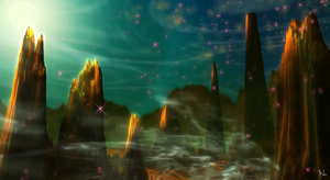 Pillars of Creation by Natal-ee-a