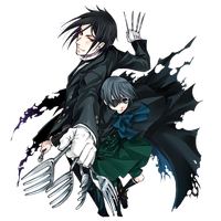 Sebastian and Ciel icon by YukiNatsuki