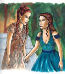 Sansa and Margaery by bachel60