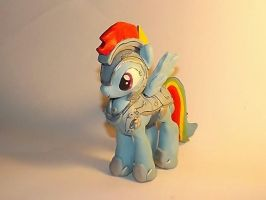 Jousting Rainbow Dash WIP by Blue-Azure-Rose