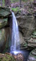 Little Lyon Falls by Dalamar789