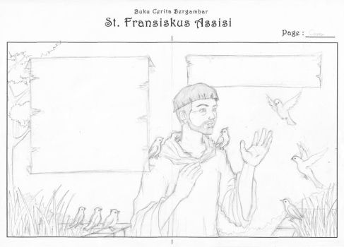 St. Francis of Assisi by Diablos7