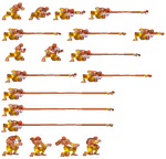 Dhalsim update grab punch sprite by Tuccifml