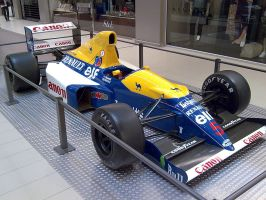 Nigel Mansell 1992 Williams by JohnnySlowhand