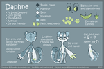 Daphne REFERENCE SHEET by R-WOLFE