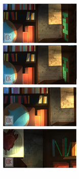 Library design by TheJourneyofmylive