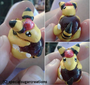 Ampharos marble charm- by Ittermat