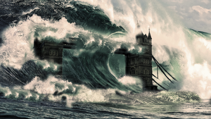 Tower Bridge - Tsunami by JSWoodhams