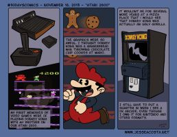 30 Days Comic Challenge Day 16 Atari by JesseAcosta