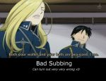 Bad Subbing by FreakyFeline