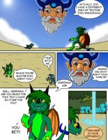 Commission: Serpenna and the Skylanders pg 3 by oogaboogaz