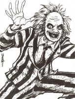 FanArtFriday Week 3- Beetlejuice by artistjerrybennett