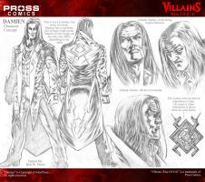 Damien charachet designs Pross Comics by bonesdeviant