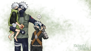 Naruto Team 7 Wallpapers: Kakashi by sugushmeaky