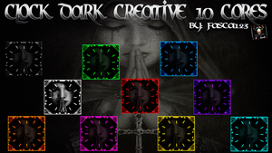 Clock dark creative 10 cores By FASCA123 by FASsCA123