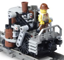 'Shunter-Class' Light Steam Railtug Mk. XLIX by RRaillery
