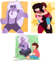 Steven Universe Doodles by Shadowpelt