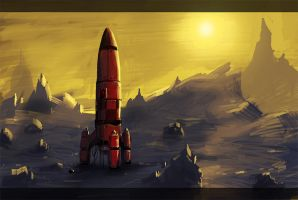 red rocket by Pericolos0
