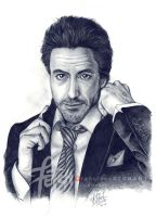 Downey Jr. by FranciscoETCHART