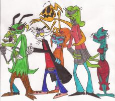 The Cast by DoofenEmpire