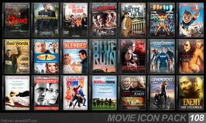 Movie Icon Pack 108 by FirstLine1
